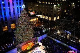 Rockefeller Plaza Christmas Tree Cam by The Tree Gets Lit Nbc New York