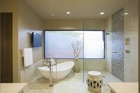 begehbare duschen offene dusche aus glas und fliesen