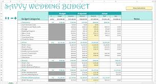 Excel Wedding Budget Template