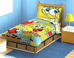bed spongebob toddler bed set home design ideas