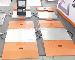 100 Portable Truck Scale Alex Electronic Weighbridge Buy