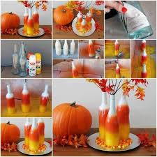 Painted Halloween Bottles 1