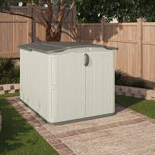 decorating suncast storage shed sheds walmart outdoor trash