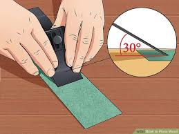 how to plane wood 12 steps with pictures wikihow