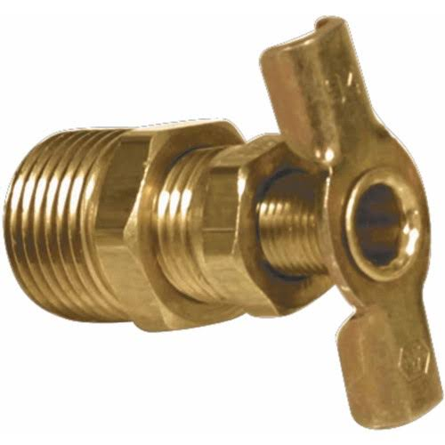 Camco Water Heater Drain Valve - 1/4""