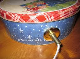 Christmas Tree Watering Device Homemade by The Chicken Make A Cookie Tin Waterer Heater Under 10