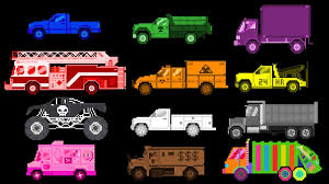100 Truck Colors Learn With S The Kids Picture Show
