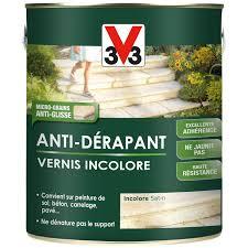 revetement sol exterieur resine leroy merlin vernis antidérapant sol extérieur intérieur antidérapante v33