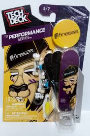 Amazon Tech Deck Scooter by Tech Deck Td Performance Series Finesse Fingerboard 5 7 Tech