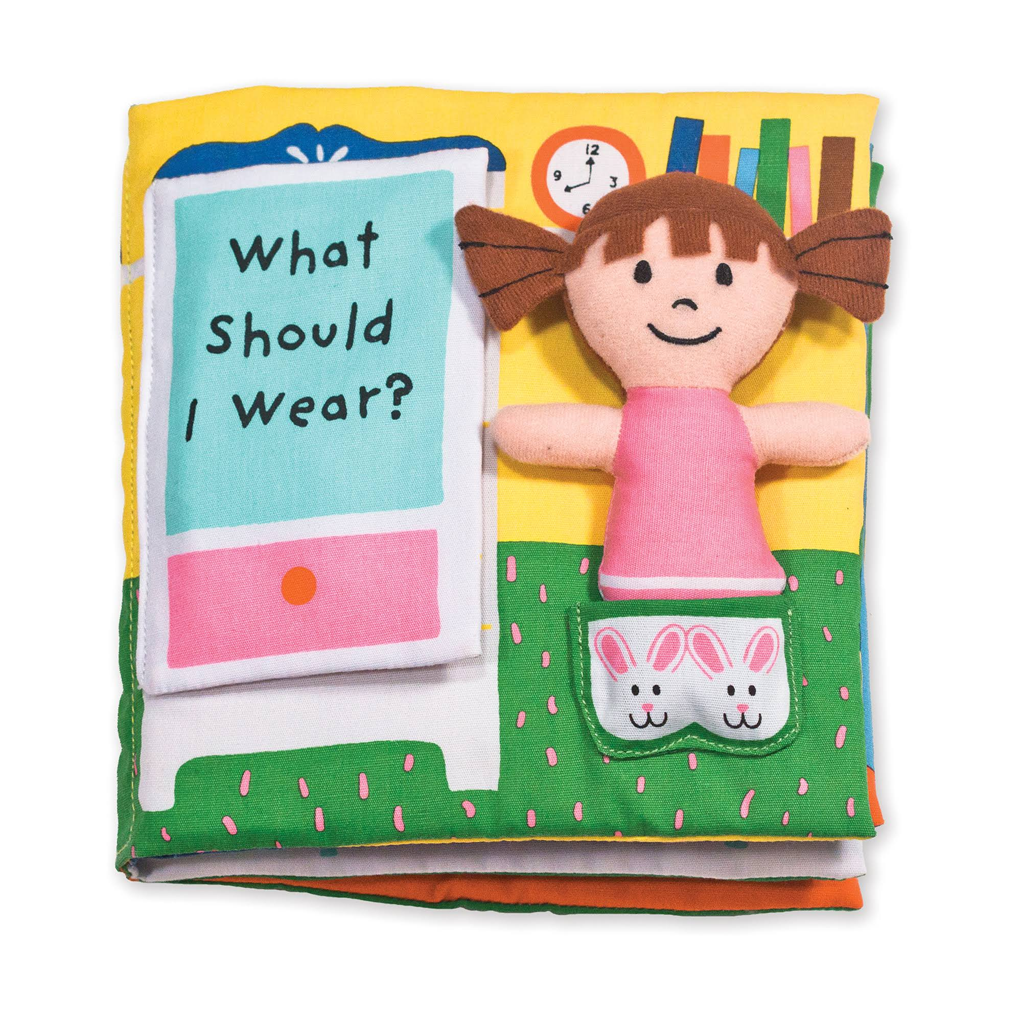 Melissa & Doug Soft Activity Book: What Should I Wear