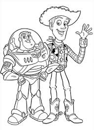 Coloriage Toy Story Woody Le Cowboy Pinteres Striking Coloring Pages
