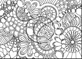 Awesome Printable Adult Coloring Pages With Hard For Adults And Free