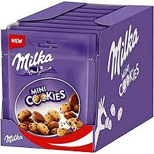 milka mini cookies 8er pack 8 x 110g
