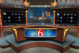 KOTV TV Broadcast Set Design Gallery