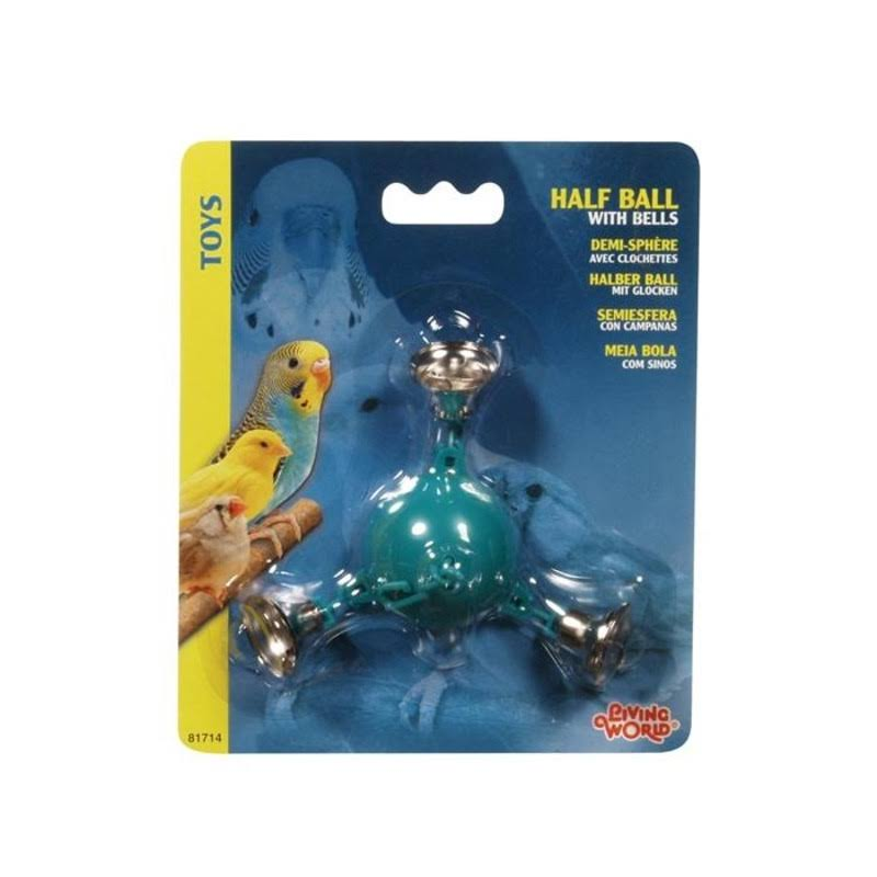Living World Half Ball - With 3 Metal Bells