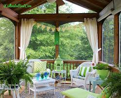 join me in the screened porch a cultivated nest