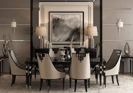 casa padrino luxus deco esszimmer set grau schwarz silber 1 esstisch 6 esszimmerstühle deco esszimmermöbel luxus qualität