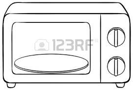 Close Up Microwave Oven With Tray Royalty Free Cliparts Vectors And Stock Illustration Image