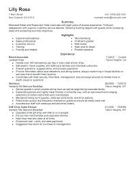 General Resume Objective Examples For Sales Associate Samples Skills Sample Of Retail Objectives No Experience