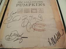 Smashing Pumpkins Setlist 1996 by Smashing Pumpkins Signed Ebay