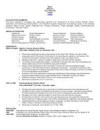 Sample Resume Event Planner Resumes Basic Sle
