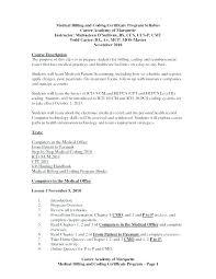 Medical Billing And Coding Resume Sample For Coder