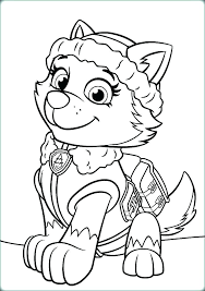 Coloring Pages Of Paw Patrol With Colouring Pup