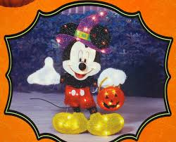 Halloween Yard Stake Lights by Mickey Mouse Halloween Lighted Decorations Halloween Wikii