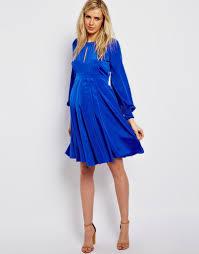blue maternity maxi dress naf dresses
