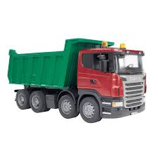 100 Bruder Trucks Scania Dump Truck Vehicle Toys By 03550