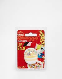 Kelloggs Fruit Loops Cereal Bowl Lip Balm