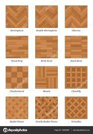 Parquet Floor Pattern Set Parquetry Stock Vector C Furian 148460067