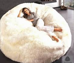 Furry Giant Bean Bag Chair