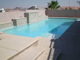 quartz finish pool building services in las vegas pool plastering