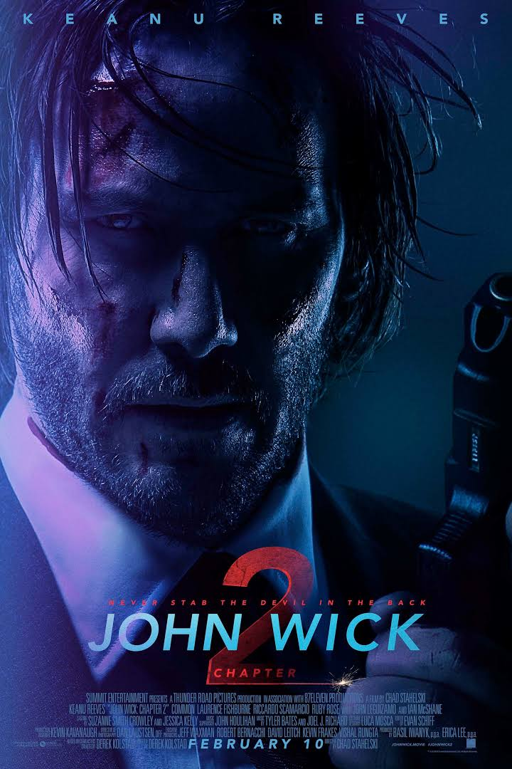 John Wick Chapter 2 (2017) BluRay Full Movie Download 480p & 720p
