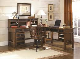 Wood Rustic L Shaped Office Desk Custom The Carruca By Iron Age Home Design S For