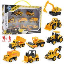100 Types Of Construction Trucks Amazoncom PAWACA 10PCS Baby Car Toys Set Early Education Mini