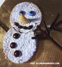 recette de noël les gâteaux bonhommes de neige allo maman dodo