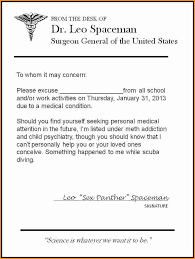 Doctors Excuse Letter Beautiful 8 Doctor Excuse Note for School