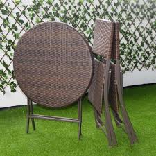 Giantex 3PC Folding Round Table & Chair Bistro Set Rattan ... Oakville Fniture Outdoor Patio Rattan Wicker Steel Folding Table And Chairs Bistro Set Wooden Tips To Buying China Bordeaux Chair Coffee Fniture Us 1053 32 Off3pcsset Foldable Garden Table2pcs Gradient Hsehoud For Home Decoration Gardening Setin Top Elegant Best Collection Gartio 3pcs Waterproof Hand Woven With Rustproof Frames Suit Balcony Alcorn Comfort Design The Amazoncom 3 Pcs Brown Dark Palm Harbor Products In Camping Beach Cell Phone Holder Roof Buy And Chairswicker Chairplastic Photo Of Green Near 846183123088 Upc 014hg17005 Belleze