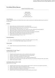 Safety Director Resume Manager Best Sample For Officer Online Supervisor