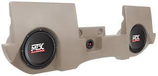 100 Speaker Boxes For Trucks DRQC20TTN Thunderform Loaded Subwoofer Enclosure Dodge Ram Quad Cab