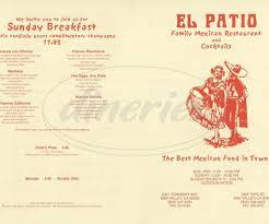 El Patio Mcallen Tx Hours by 28 El Patio Restaurant Simi Valley Menu 100 El Patio On