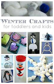 Preschool Winter Project Ideas Crafts For