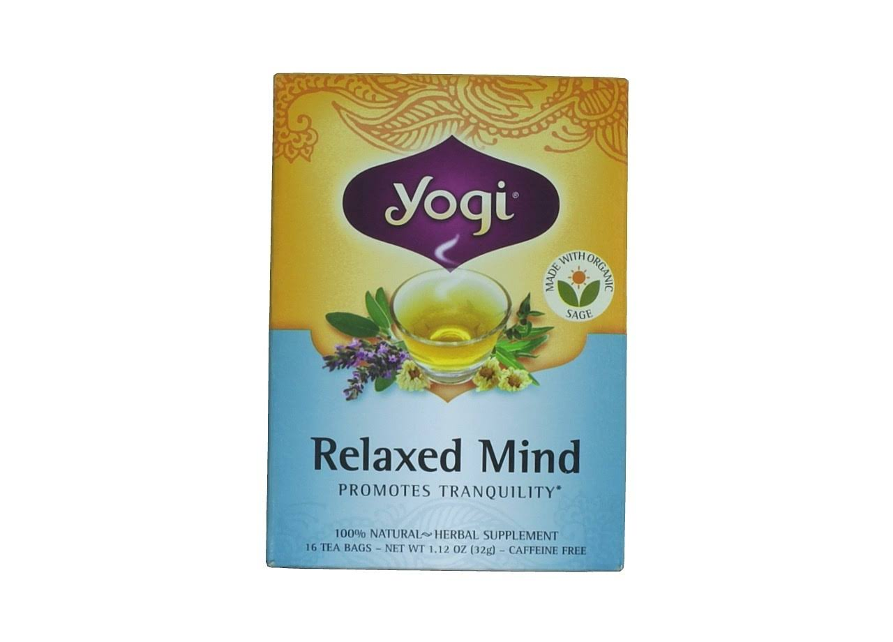 Yogi Tea - Relaxed Mind, 16 Tea Bags