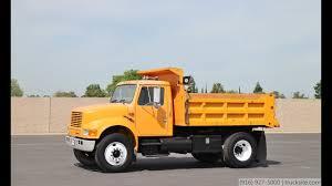 1992 International 4900 5 Yard Dump Truck For Sale - YouTube