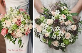 Brides Bouquet Hand Tied Wedding Bouquets By The Wilde Bunch