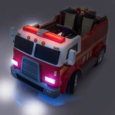 100 Kid Trax Fire Truck Parts SUPERtrax Big Rig Rescue S Ride On 4WD Battery