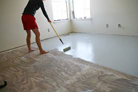 Painting Carpets by Diy Stencil Painted Subflooring Ashleyannphotography Com