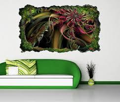 3d wandtattoo 3d effekt blume hintergrund linien abstrakt kunst textur muster selbstklebend wandbild wandsticker wohnzimmer wand aufkleber 11o020